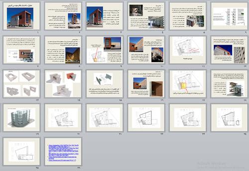 تحلیل ساختمان نظام مهندسی قزوین