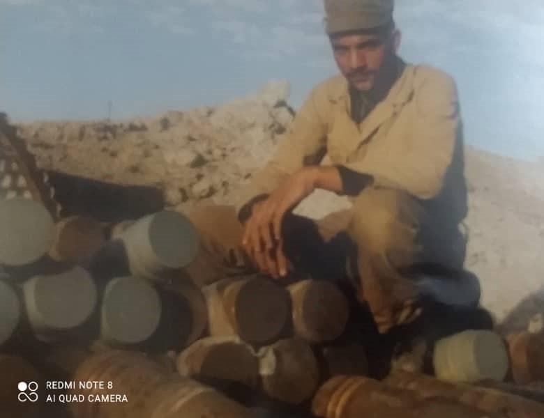 علی ترابی محب،جمعی گردان 21 قدر، نحوه شهادت عباس آزرده خدمه توپ 130م م را روایت میکند