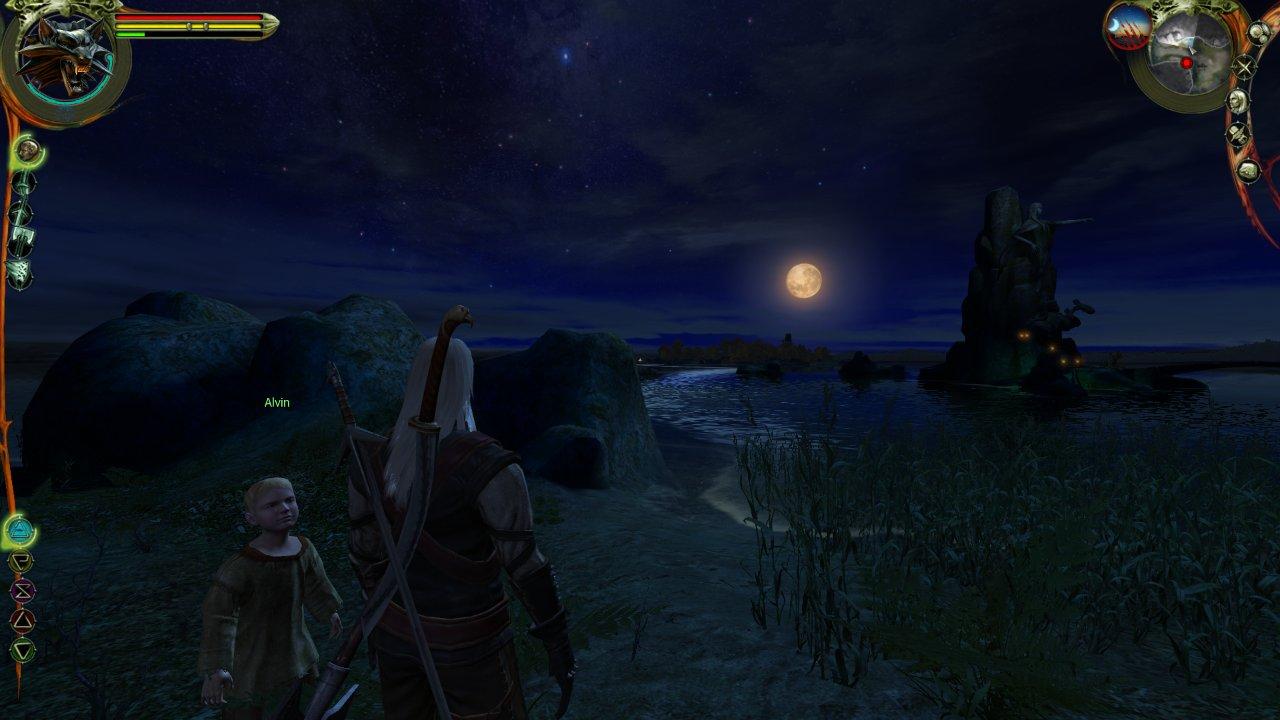 Geralt Alvin Witcher 1 Lakeside