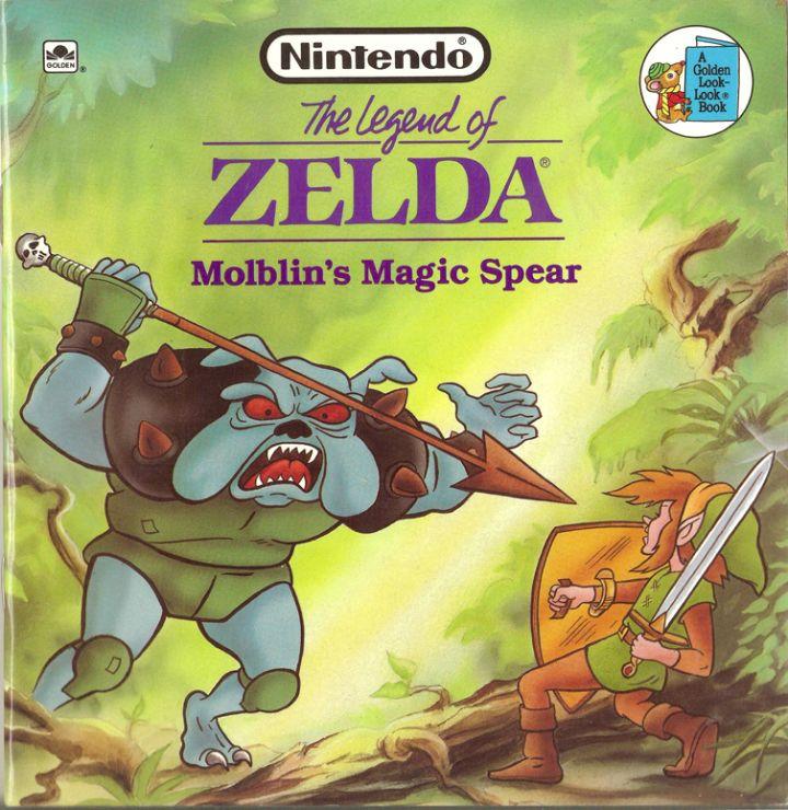 دانلود کتاب افسانه زلدا molblins magic spear